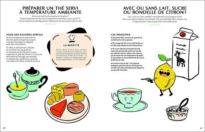 image pages 26-27 tea sommelier françois-xavier delmas mathias minet éditions du chêne