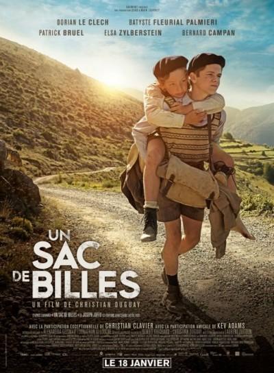 [News – Cinéma] Bande-annonce de «Un Sac de Billes» de Christian Duguay, sortie le 18 Janvier 2017.