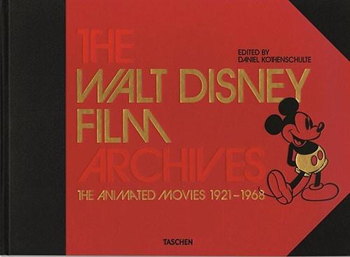 image couverture walt disney archives 1921-1968 éditions taschen