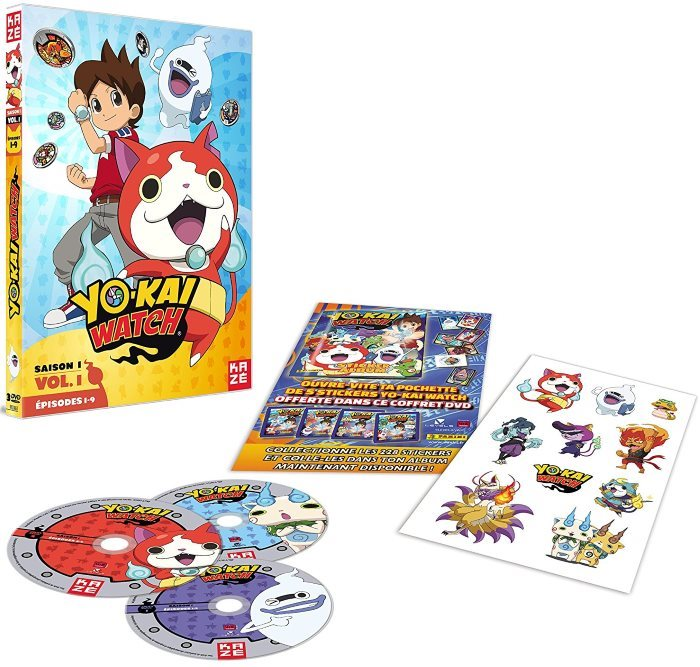 image dvd yo-kai watch saison 1 volume 1