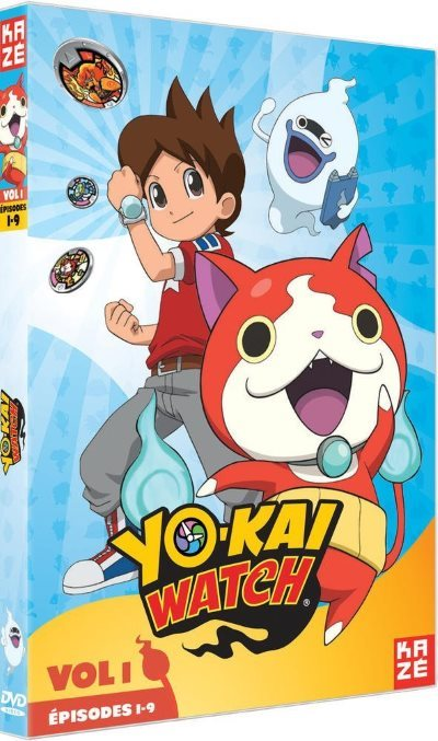 [Test – DVD] Yo-kai Watch : Saison 1 vol.1 – Shinji Ushiro