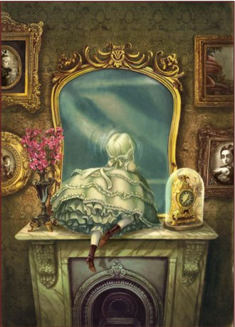 critique alice de l 39 autre c t du miroir lewis carroll illustr par benjamin lacombe. Black Bedroom Furniture Sets. Home Design Ideas