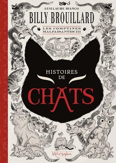 image couverture billy brouillard les comptines malfaisantes III histoires de chats guillaume bianco éditions soleil collection métamorphose