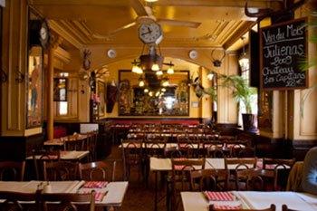 image salle brasserie de l'isle saint louis paris