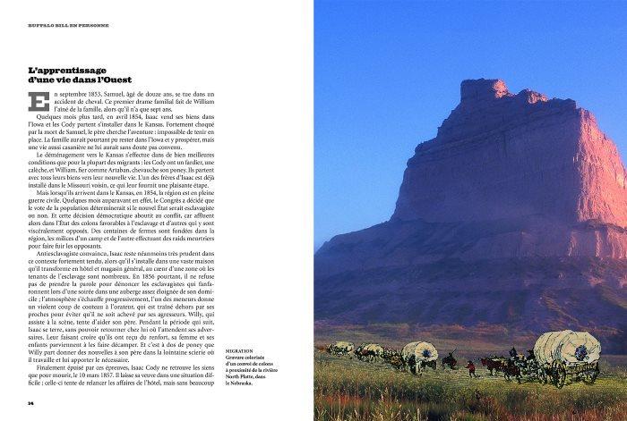 image livre buffalo bill et le wild west show