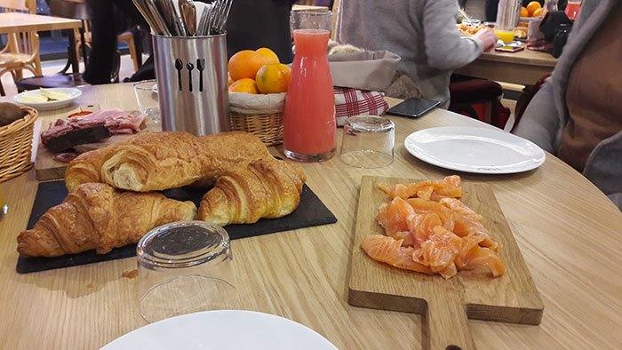 image petit déjeuner la cantine du troquet rungis