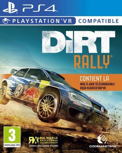 [News – Jeux vidéo] DiRT Rally est désormais compatible avec le Playstation VR