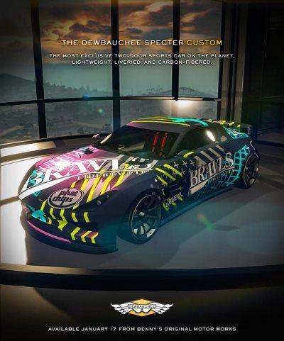 [News – Jeu vidéo] GTA Online : une nouvelle voiture et un nouveau mode
