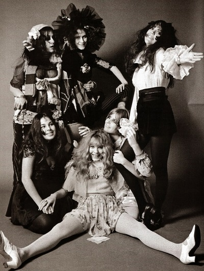 image pamela des barres girls band gto's 1968