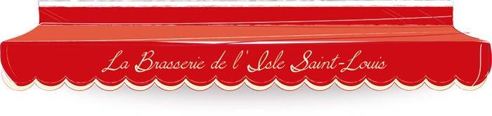 image logo la brasserie de l'isle saint louis