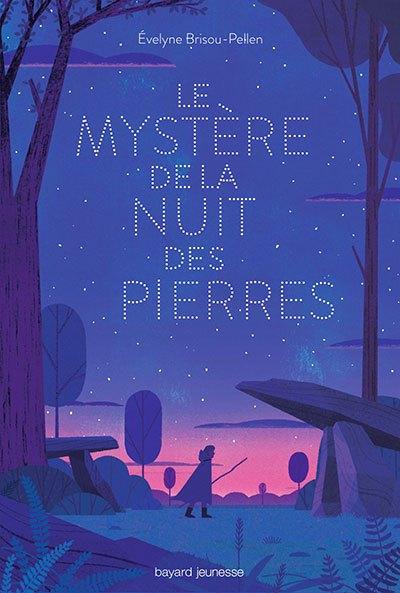 image couverture le mystère de la nuit des pierres evelyne brisou-pellen éditions bayard jeunesse