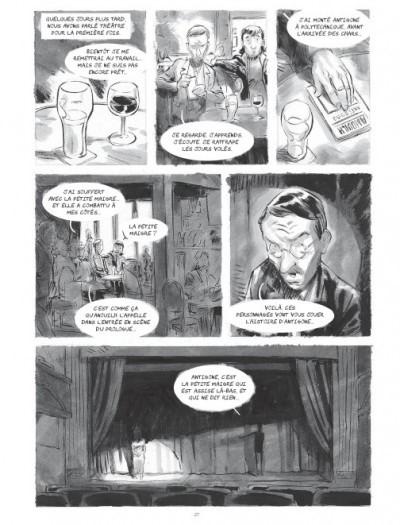 image planche page 27 bd le quatrième mur corbeyran horne marabulles