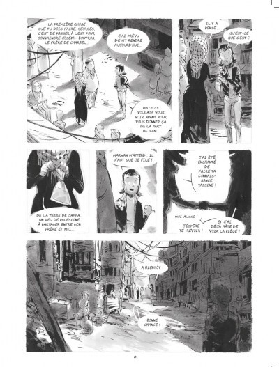 image planche pages 80-81 le quatrième mur corbeyran horne marabulles