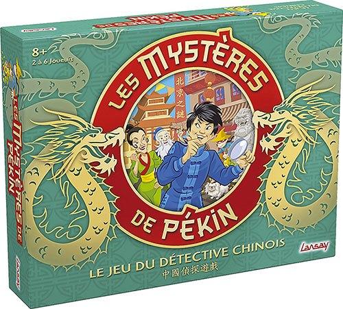 [News – Jeux de société] Fêtez le Nouvel An chinois avec Les Mystères de Pékin de Lansay