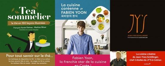 image couvertures livres de cuisine éditions du chêne tea sommelier la cuisine coréenne de fabien yoon jy's