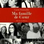 image couverture ma famille de coeur carole weisweiller éditions michel de maule