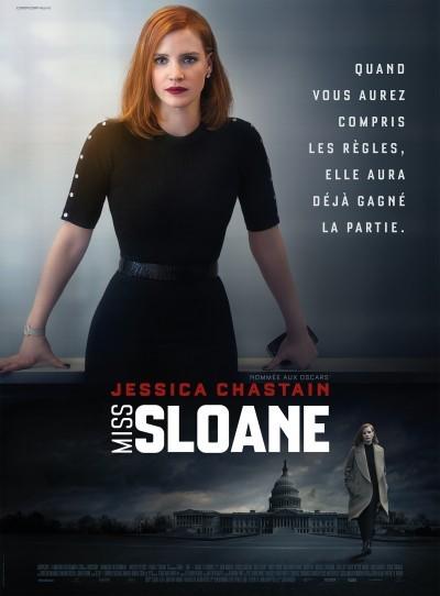 [News – Cinéma] Nouvelle bande-annonce de «Miss Sloane» de John Madden, sortie le 8 Mars