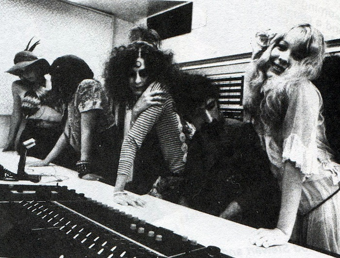 image pamela des barres gto's frank zappa en studio d'enregistrement
