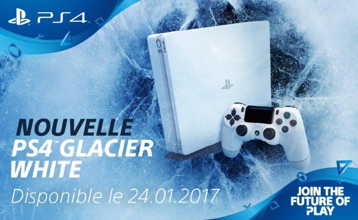 [News – Jeu vidéo] Playstation 4 : une nouvelle apparence Glacier White