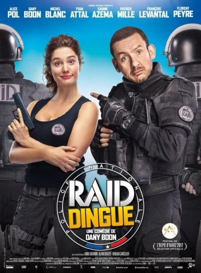 [News – Cinéma] Nouvelle bande-annonce de «Raid Dingue» de Dany Boon, sortie le 1er Février.
