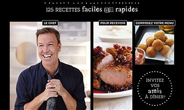 image gros plan couverture ricardo un québécois dans votre cuisine