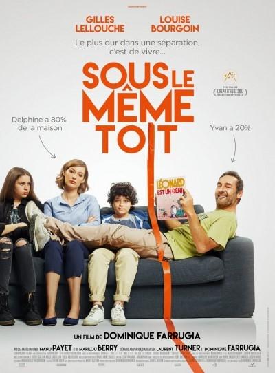 [News – Cinéma] Bande-annonce de «Sous le même toit» de Dominique Farrugia, sortie le 19 Avril.