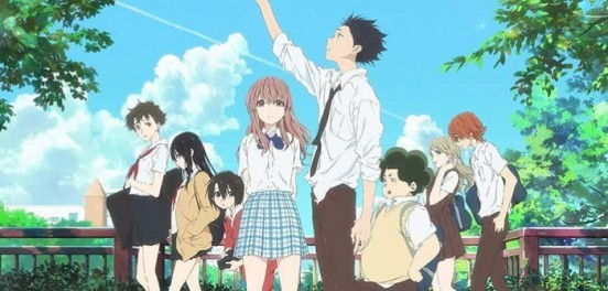 image annonnce a silent voice