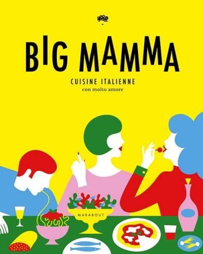 image couverture big mamma cuisine italienne con molto amore