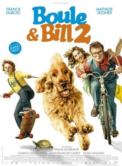 [News – Cinéma] Teaser de «Boule & Bill 2» Pascal Bourdiaux, sortie le 12 avril.