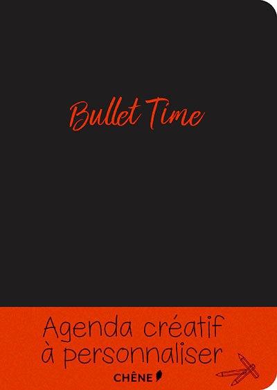 image couverture agenda bullet time éditions du chêne