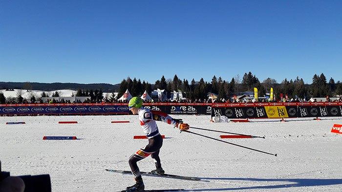 image épreuve ski de fond coupe du monde de combiné nordique 2017 chaux neuve