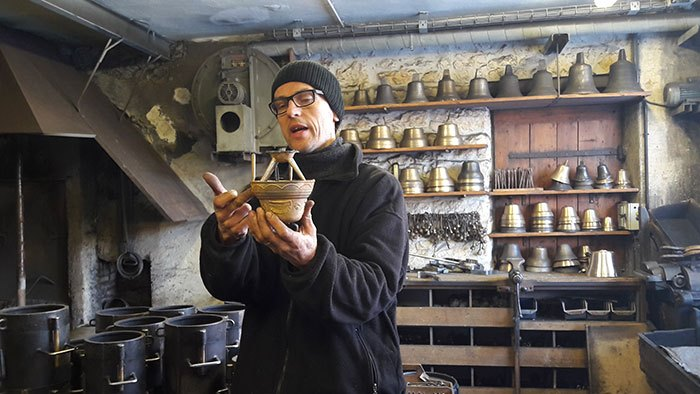 image visite fonderie de cloches charles obertino labergement sainte marie