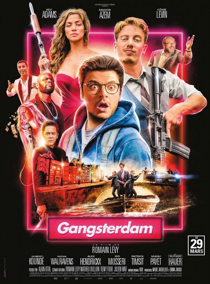 image kev adams poster gangsterdam