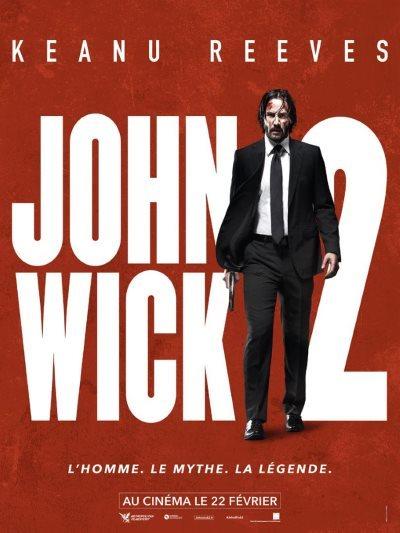 [Concours] John Wick 2 : gagnez 5×1 place ainsi qu'un DVD et un BR de John Wick