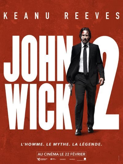 image affiche john wick 2