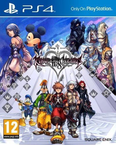image jaquette kingdom hearts hd
