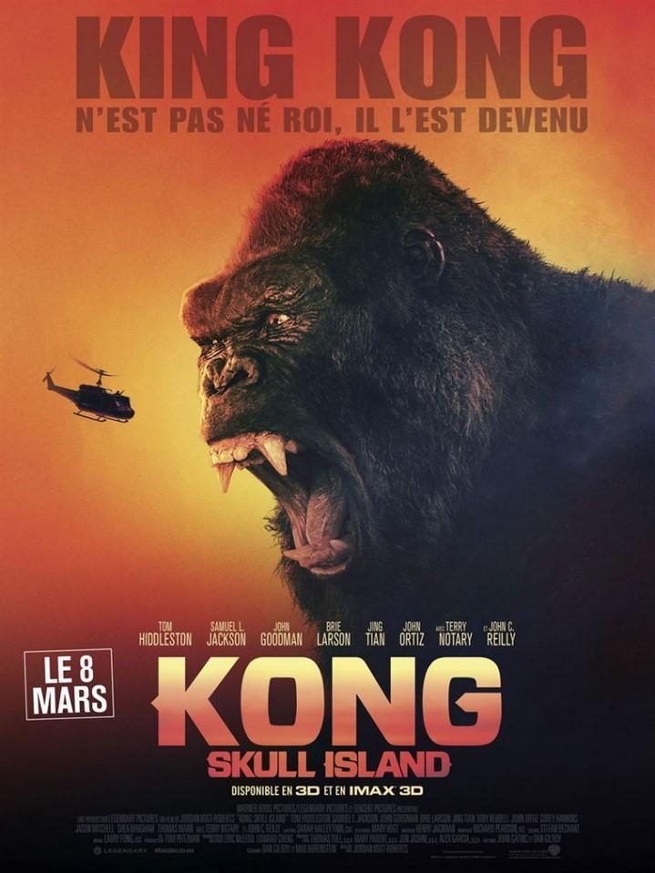 image kong: skull island poster
