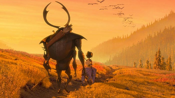 image coucher de soleil kubo et l'armure magique universal pictures france