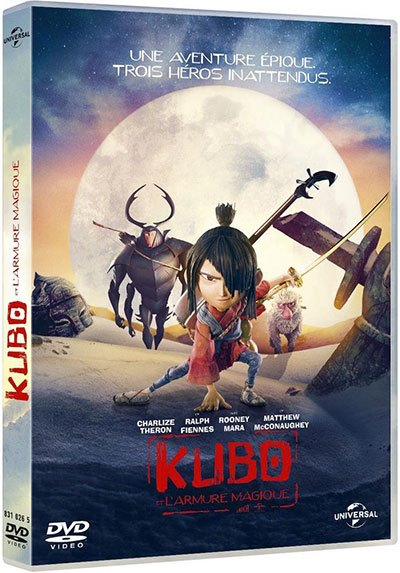 [Test – DVD] Kubo et l'armure magique — Travis Knight