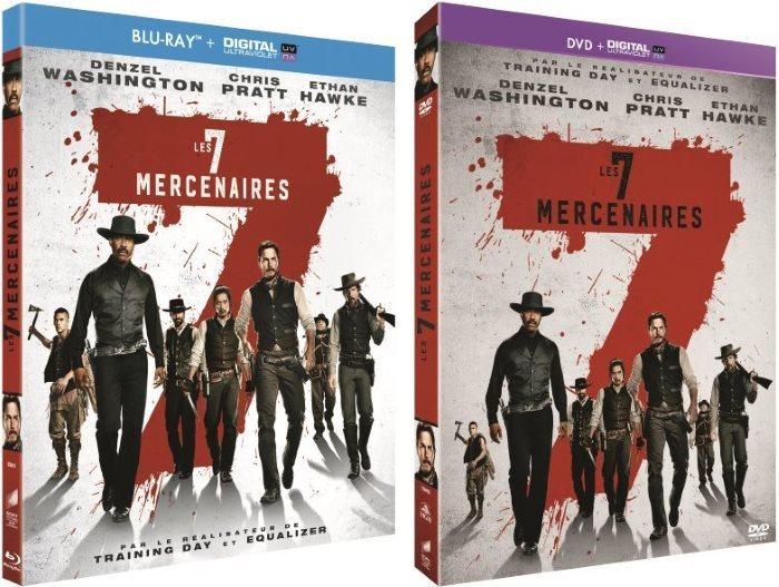 [Concours] Les 7 mercenaires : gagnez 2 Blu-ray et 1 DVD