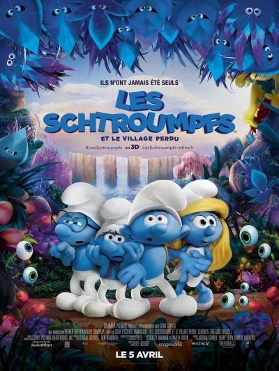 [News – Cinéma] Nouvelle bande-annonce de «Les Schtroumpfs et le Village Perdu» de Kelly Asbury, sortie le 5 Avril