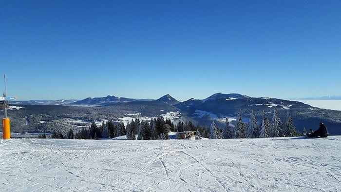 image station de ski métabief montagnes du jura