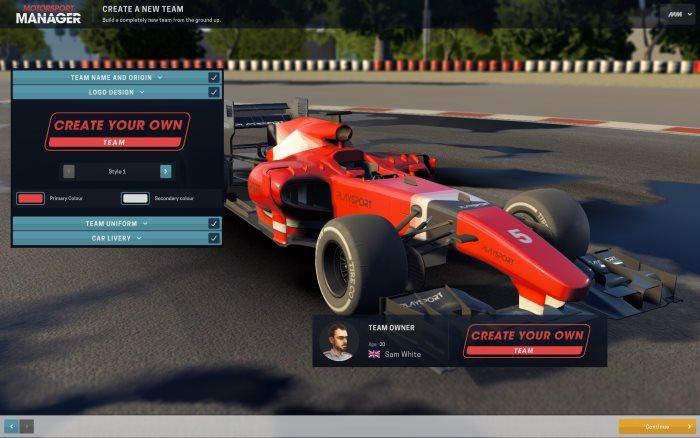 image jeu motorsport manager