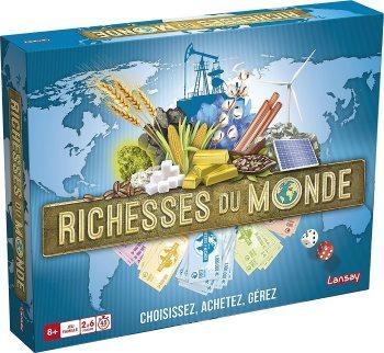 [Test – Jeu de société] Richesses du monde – Lansay