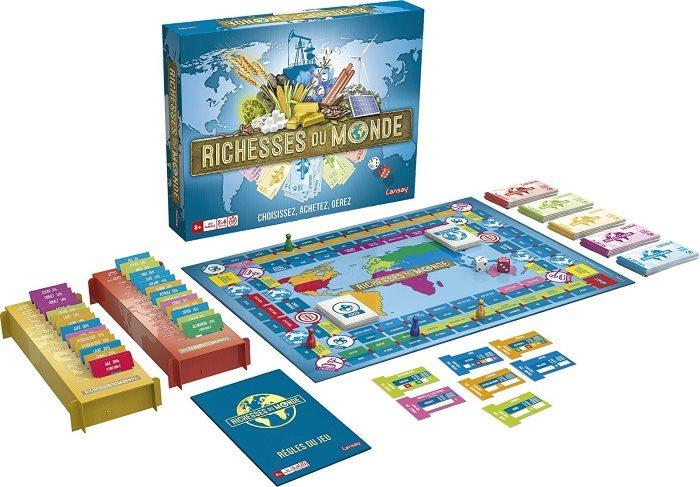 image jeu richesses du monde