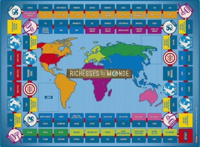 image plateau richesses du monde