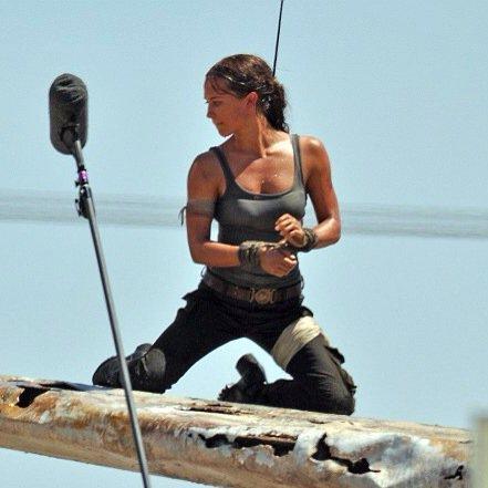 [News – Cinéma] Premières photos de Alicia Vikander en Lara Croft!