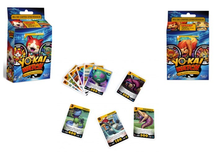 image cartes yo kai watch