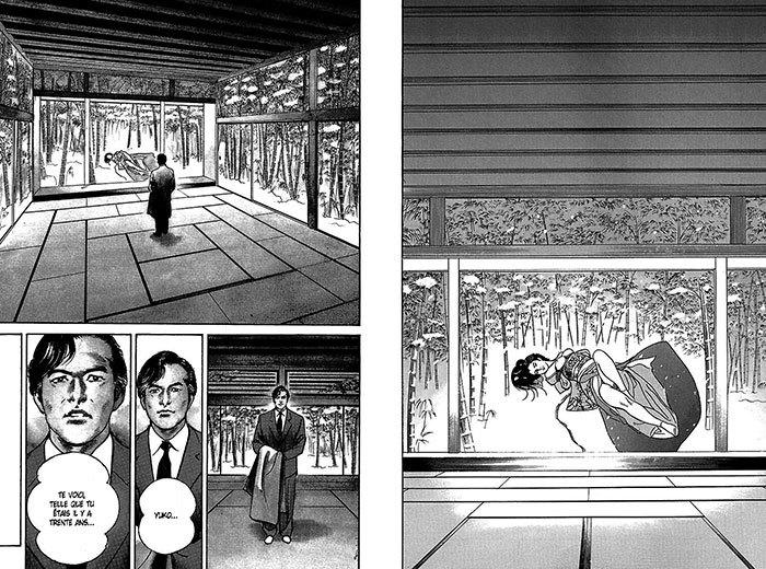 image planches 3-4 elle s'appelait yuko anthologie yuko de ryoichi ikegami éditions delcourt tonkam