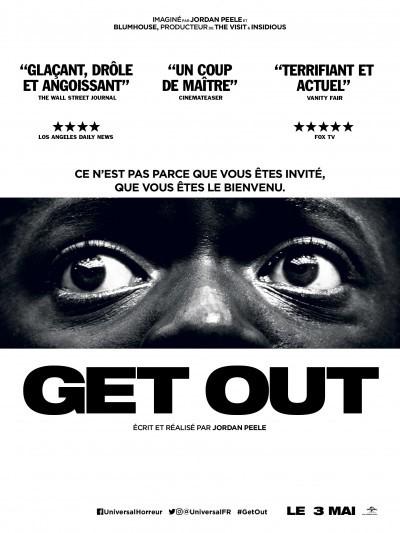 [News – Cinéma] Bande-annonce de «Get Out» de Jordan Peele, sortie le 3 Mai.